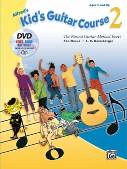 Alfred's Kid's Guitar Course 2: The Easiest Guitar Method Ever! (AL-00-44741)