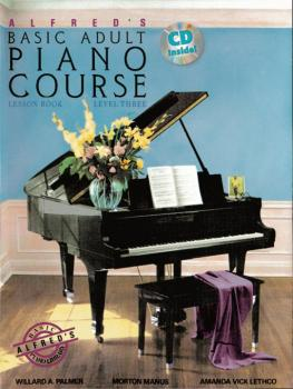 Alfred's Basic Adult Piano Course: Lesson Book 3 (AL-00-34928)