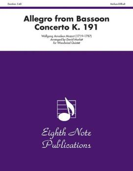 Allegro (from Bassoon Concerto, K. 191) (AL-81-WWQ2522)