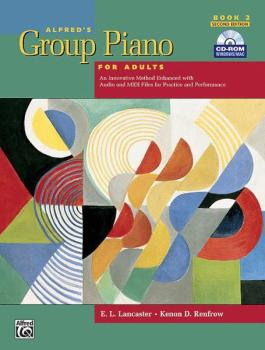 Alfred's Group Piano for Adults: Student Book 2 (2nd Edition): An Inno (AL-00-28450)