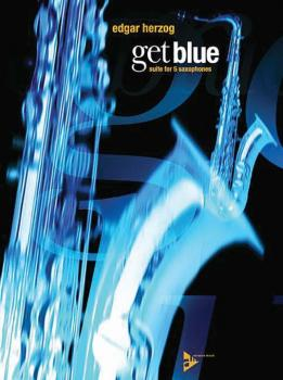 Get Blue: Suite for 5 Saxophones (AL-01-ADV7525)