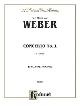 Clarinet Concerto No. 1 in F Minor, Opus 73 (AL-00-K03937)