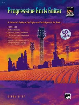 Progressive Rock Guitar: A Guitarist's Guide to the Styles and Techniq (AL-00-22547)