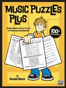 Music Puzzles Plus: 25 Educational and Fun Puzzles for Classroom and H (AL-00-23857)