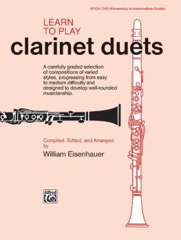 Learn to Play Clarinet Duets (AL-00-861)