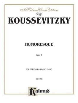Humoresque, Opus 4 (AL-00-K04460)