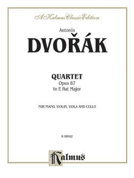 Quartet in E-flat Major, Opus 87 (For Piano, Violin, Viola and Cello) (AL-00-K09642)
