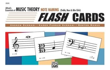 Alfred's Essentials of Music Theory: Flash Cards -- Note Naming (AL-00-20320)