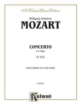 Concerto, K. 622 (Orch.) (AL-00-K03776)