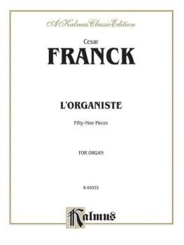 L'Organiste (59 Organ Pieces) (AL-00-K04533)