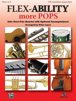 Flex-Ability: More Pops: Solo-Duet-Trio-Quartet with Optional Accompan (AL-00-30328)