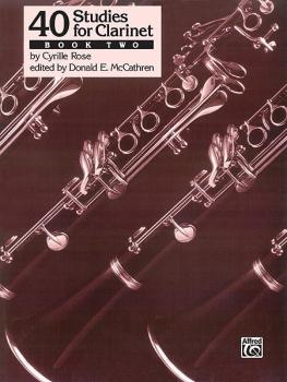 40 Studies for Clarinet, Book 2 (AL-00-EL03688)
