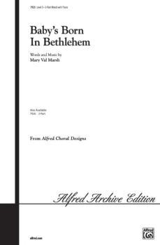 Baby's Born in Bethlehem (AL-00-7925)