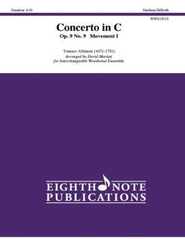 Concerto in C Opus 9, No. 9 -- Movement I (AL-81-WWE15112)