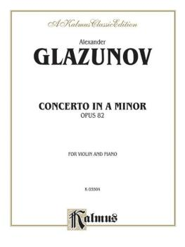 Concerto in A Minor, Opus 82 (AL-00-K03504)