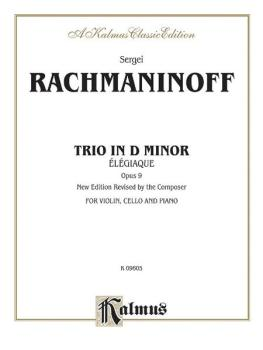 Trio Elegiaque, Opus 9 (AL-00-K09605)