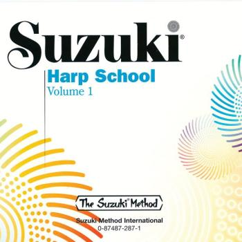 Suzuki Harp School CD, Volume 1 (AL-00-0287)