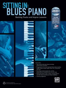 Sitting In: Blues Piano: Backing Tracks and Improv Lessons (AL-00-42813)