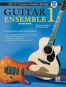 Belwin's 21st Century Guitar Ensemble 1: The Most Complete Guitar Cour (AL-00-EL03955CD)