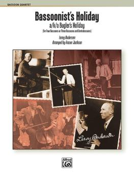 Bassoonist's Holiday (a/k/a Bugler's Holiday) (AL-00-34414)