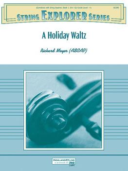 A Holiday Waltz (Featuring: Jingle Bells and We Wish You a Merry Chris (AL-00-38468)