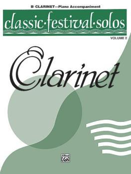 Classic Festival Solos (B-flat Clarinet), Volume 2 Piano Acc. (AL-00-EL03874)