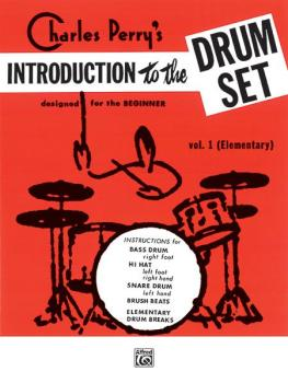 Introduction to the Drum Set, Book 1: Designed for the Beginner (AL-00-HAB00020)