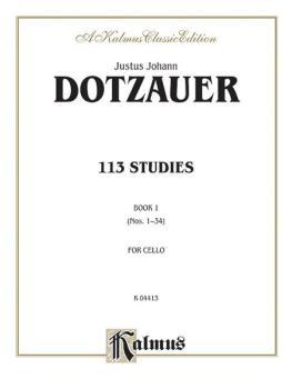 113 Studies, Volume I (Nos. 1–34) (AL-00-K04413)