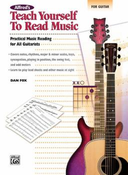 Alfred's Teach Yourself to Read Music for Guitar: Practical Music Read (AL-00-23217)
