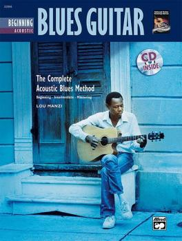 The Complete Acoustic Blues Method: Beginning Acoustic Blues Guitar (AL-00-22866)