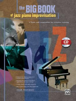 Big Book of Jazz Piano Improvisation: Tools and Inspiration for Creati (AL-00-21965)