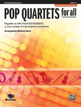 Pop Quartets for All (Revised and Updated): Playable on Any Four Instr (AL-00-30714)