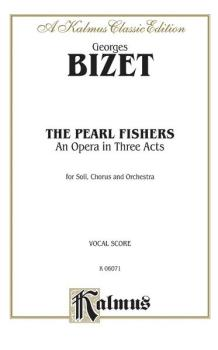 The Pearl Fishers - An Opera in Three Acts (AL-00-K06071)