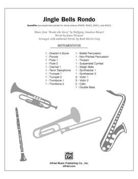 """Jingle Bells Rondo: Music from """"Rondo alla Turca"""" (AL-00-DIGPX00023)"""
