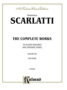 The Complete Works, Volume VIII (In Eleven Volumes and Thematic Index) (AL-00-K09469)