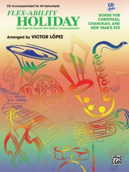 Flex-Ability: Holiday: Solo-Duet-Trio-Quartet with Optional Accompanim (AL-00-0702B)