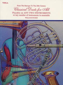 Classical Duets for All (From the Baroque to the 20th Century) (AL-00-EL96136)
