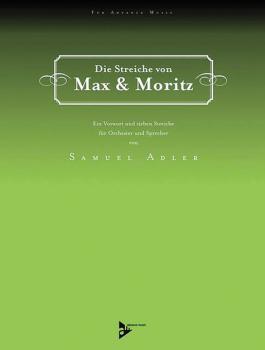 Die Streiche von Max & Moritz: Ein Vorwort und sieben Streiche (AL-01-ADV50000)
