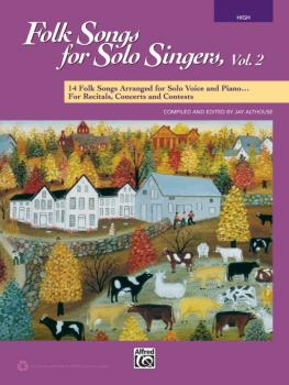 Folk Songs for Solo Singers, Vol. 2: 14 Folk Songs Arranged for Solo V (AL-00-41547)