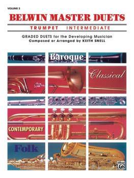 Belwin Master Duets (Trumpet), Intermediate Volume 2 (AL-00-EL03649)
