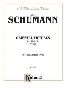 Oriental Pictures (Six Impromptus, Opus 66) (AL-00-K02182)
