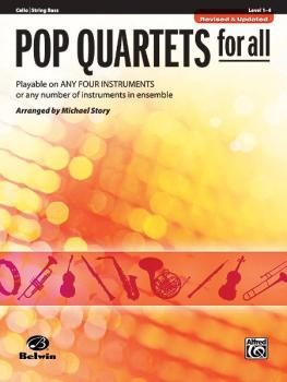 Pop Quartets for All (Revised and Updated): Playable on Any Four Instr (AL-00-30719)