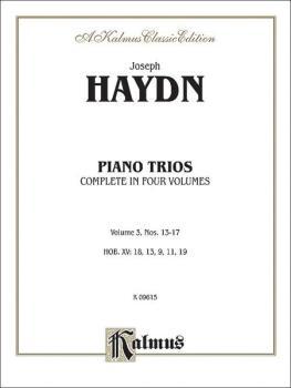 Trios for Violin, Cello and Piano, Volume III (Nos. 13-17, HOB. XV: 18 (AL-00-K09615)