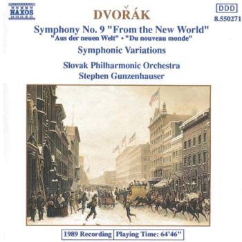 Symphony No. 9 / Symphonic Variations (AL-99-8550271)