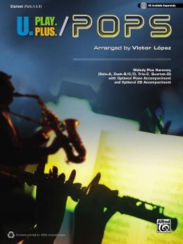 U.Play.Plus: Pops: A Plus B, C, or D Solo-Duet-Trio-Quartet with Optio (AL-00-36406)