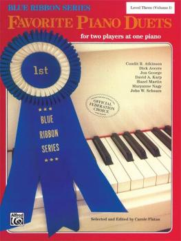 The Blue Ribbon Series: Favorite Piano Duets, Level 3, Volume 1 (AL-00-EL03237)