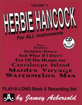 Jamey Aebersold Jazz, Volume 11: Herbie Hancock (For All Instruments) (AL-24-V11DS)