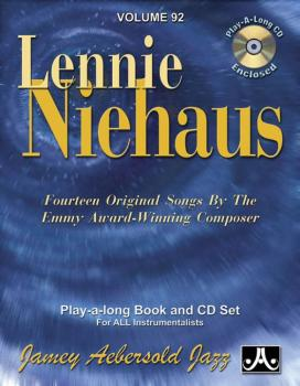 Jamey Aebersold Jazz, Volume 92: Lennie Niehaus: Fourteen Original Son (AL-24-V92DS)