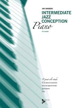 Intermediate Jazz Conception: Piano (15 Great Solo Etudes) (AL-01-ADV14787)