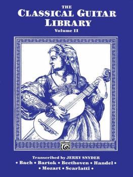 The Classical Guitar Library, Volume II (AL-00-F3202GTX)
